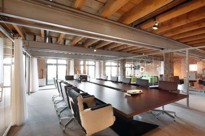 Elegant Warehouse Office Design Univar Europe Office,designed