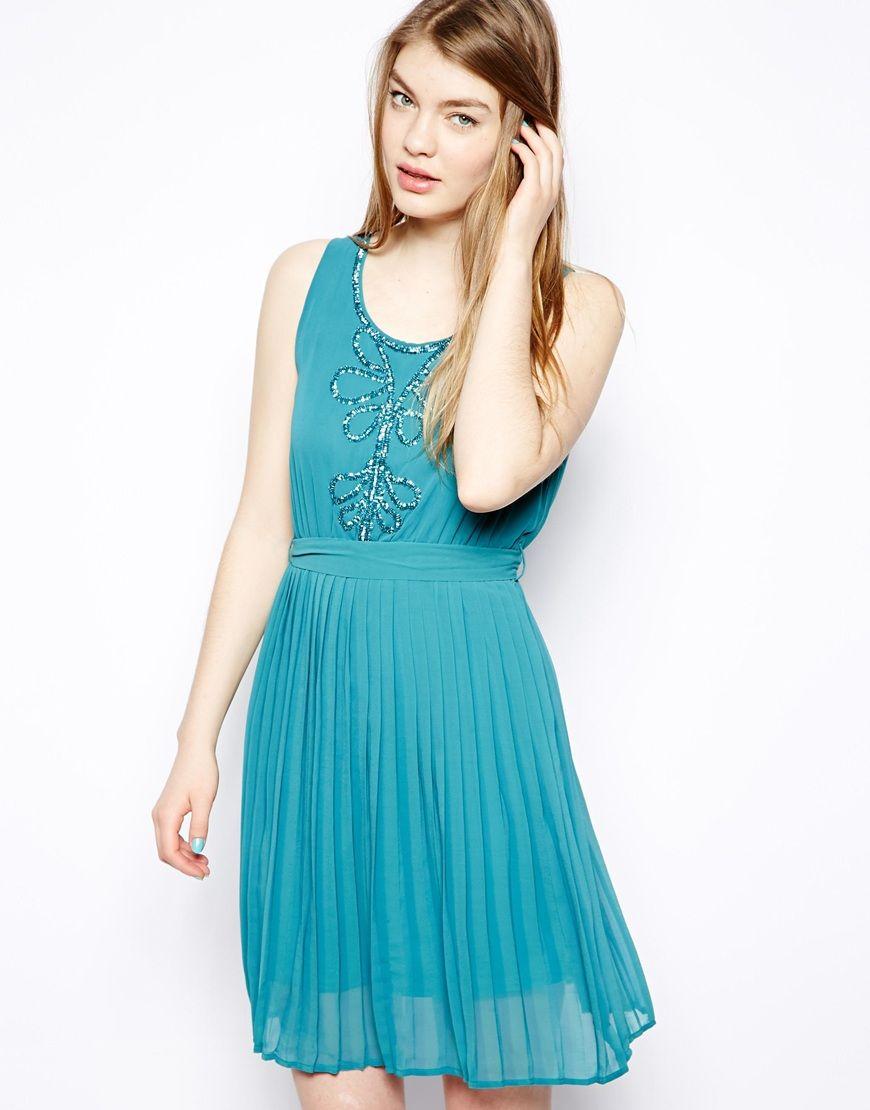Blue sheer dress | Dream Dress | Pinterest | Sheer dress, Dream ...