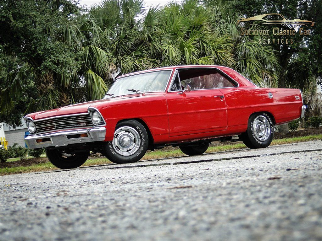 1967 Chevrolet Nova Survivor Classic Car Services