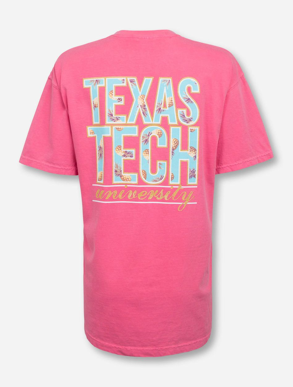 Texas Tech In Pineapple Stack On Crunchberry T Shirt Texas Tech Shirts Shirts Tech Shirt [ 1250 x 948 Pixel ]