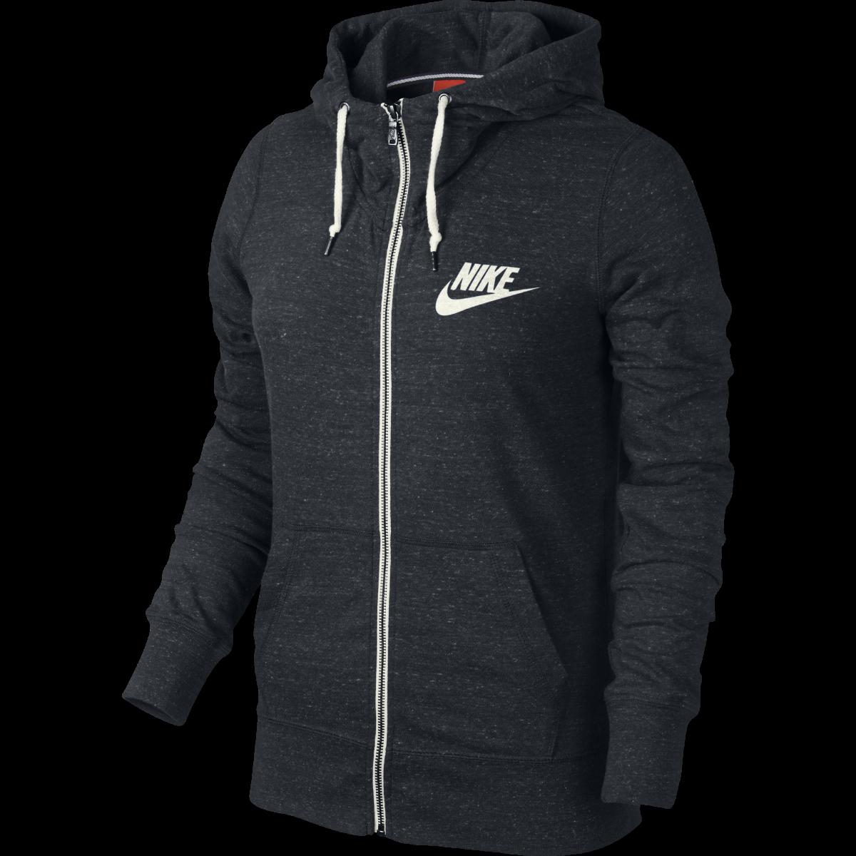 Nike Women s Gym Vintage Full-Zip Hoodie Jacket, Medium -