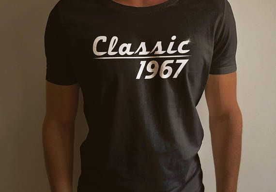Classic 1967   Cool Short Sleeve Men T Shirt For Vintage Car Lover
