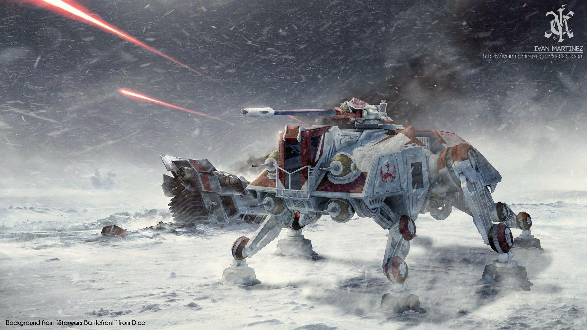 Atte On Snow Terrain Star Wars Ships Star Wars Vehicles Star Wars Images
