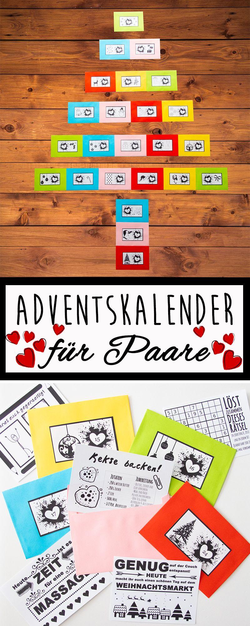 Adventskalender für Paare von idaviduell.de #adventskalender ...
