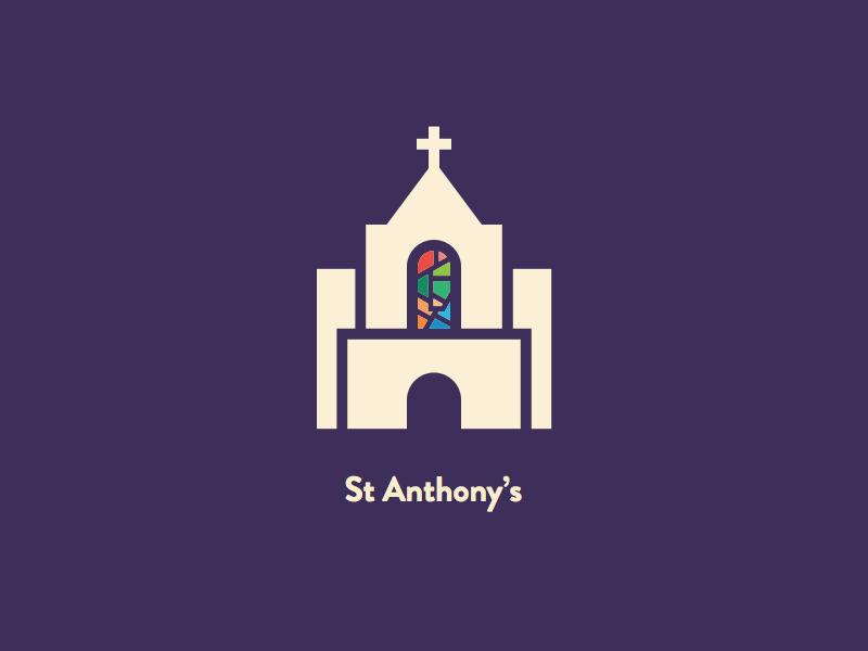 St Anthonys Church Logo Inspiration Church Logo Design Church Branding
