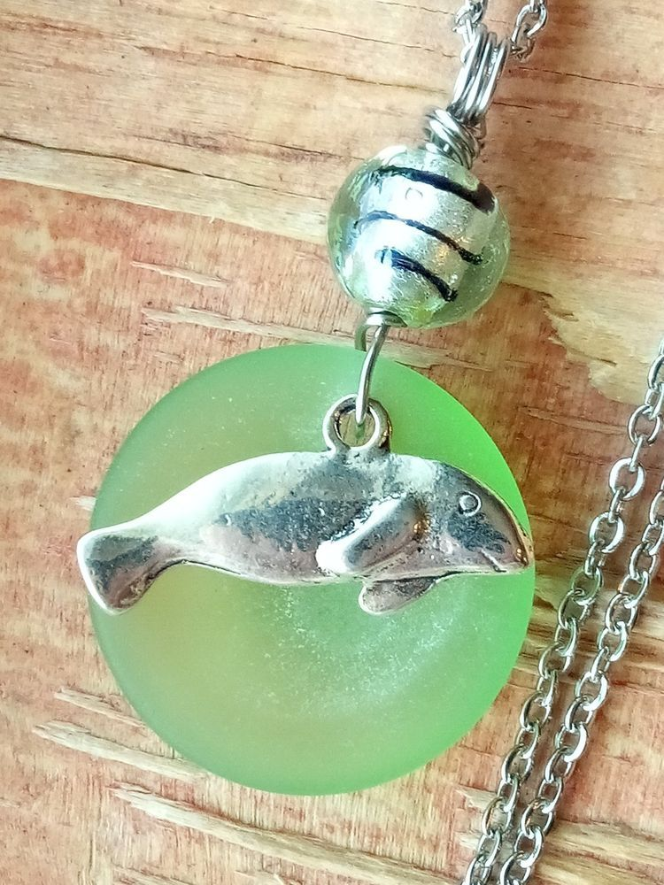 Natural Shell and Pearl Handmade Pendant Necklace Choose Your Own Stacking Shell Pendant Necklace