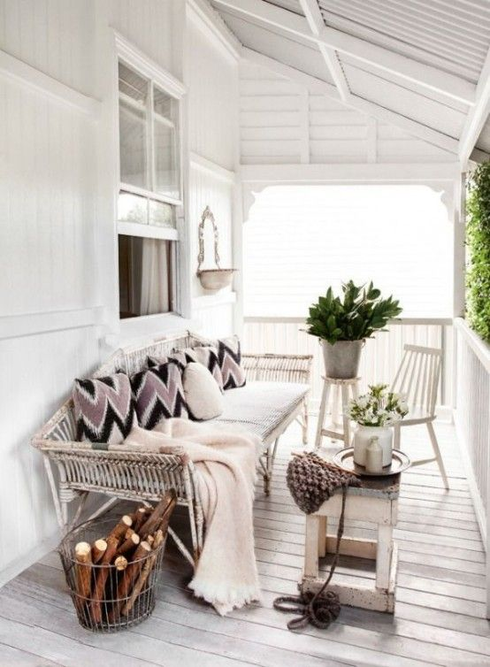 24 cozy and beautiful winter terrace décor ideas digsdigs