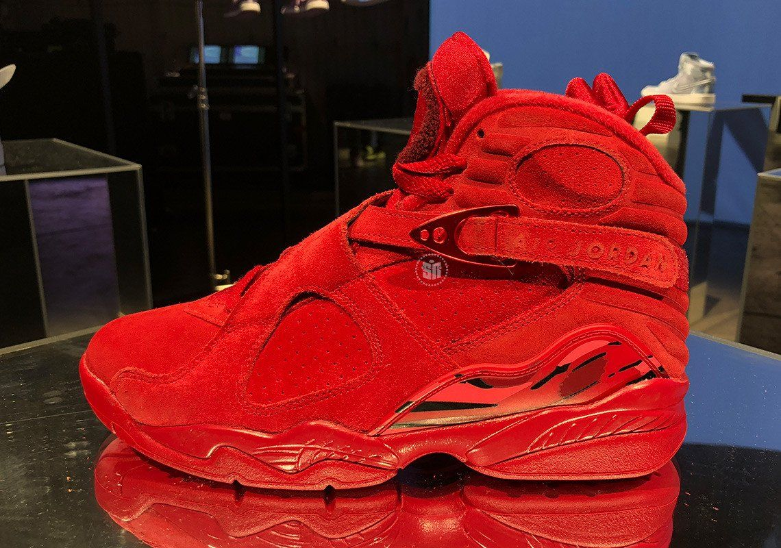 sneakers for cheap 16dff c470e JORDAN 8's VALENTINE ‼️ | JORDANS . in 2019 | Air jordans ...