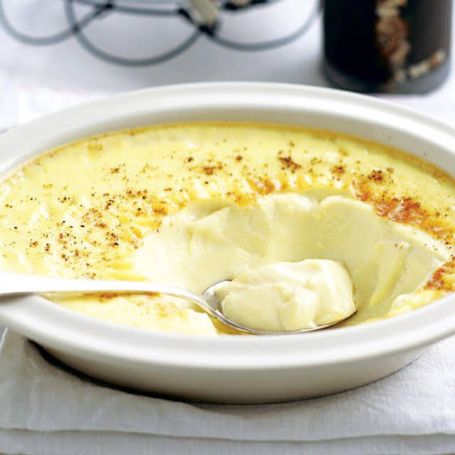 Baked Custard Recipe | Yummly