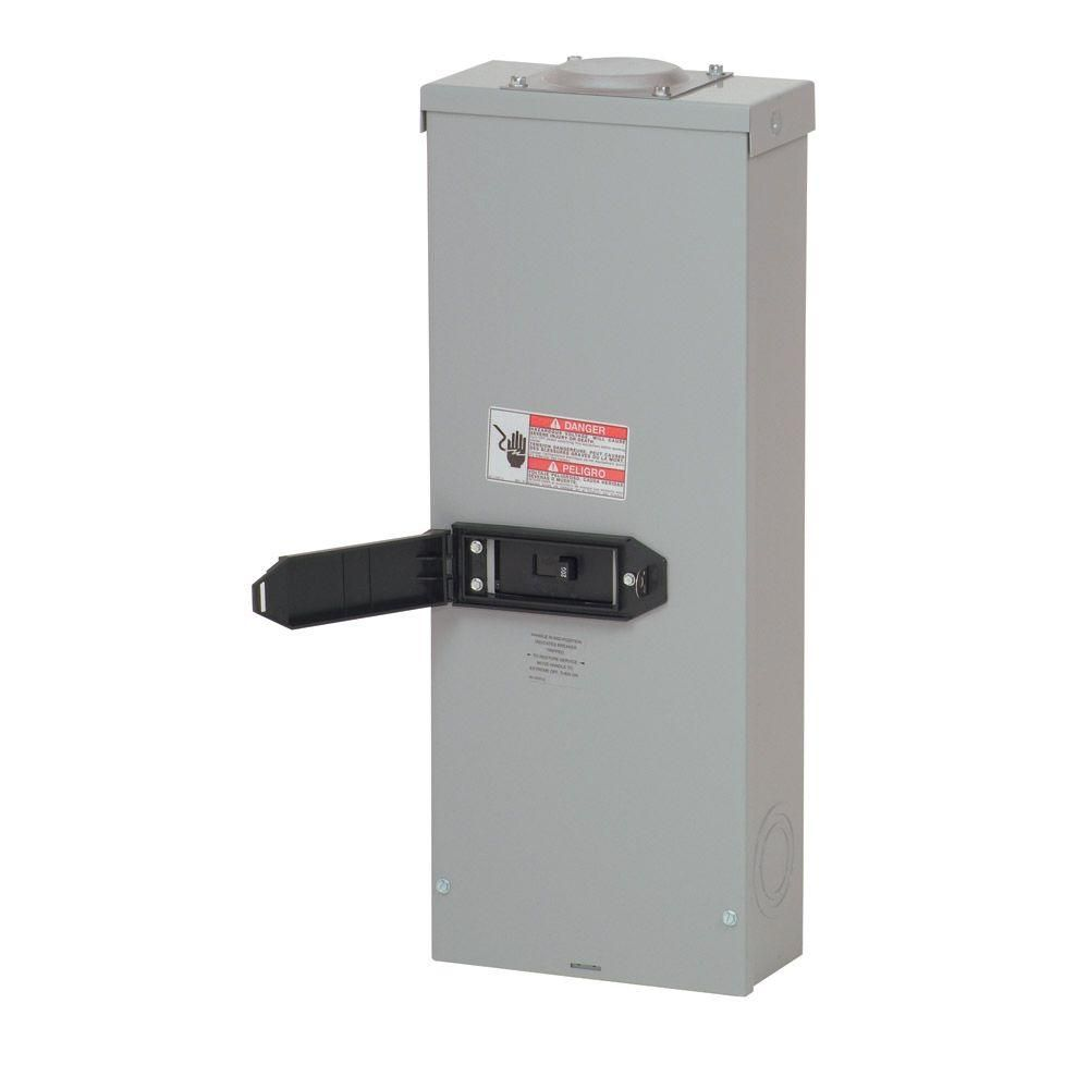 Eaton 200 Amp Enclosed Outdoor Circuit Breaker Rcc200sebp Locker Storage House Wiring Electrical Outlets