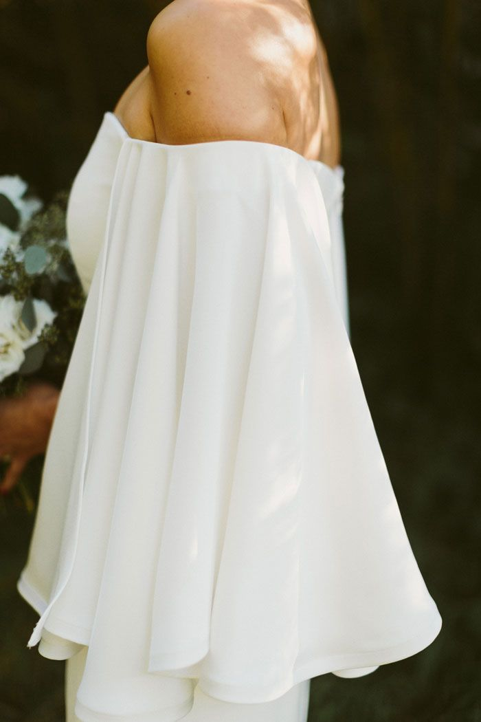 Dress: Houghton Gamila gown from LOHO Bride SF - Sarah and Chris\'s ...