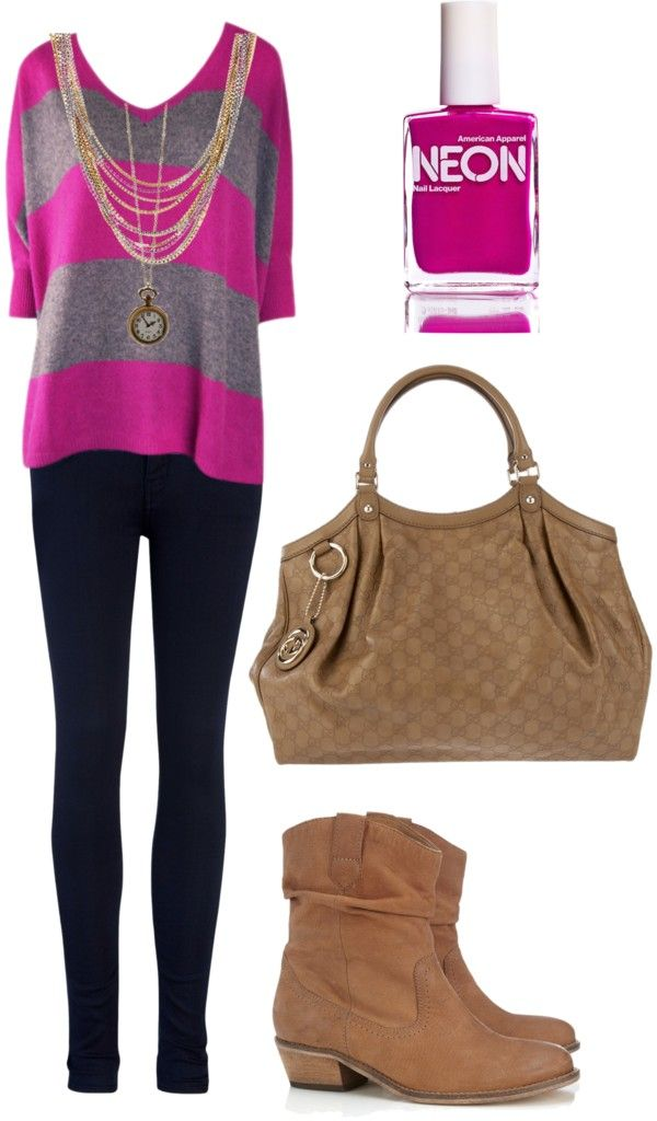 """Comfy Fuschia"" by midnight-fire-love on Polyvore"