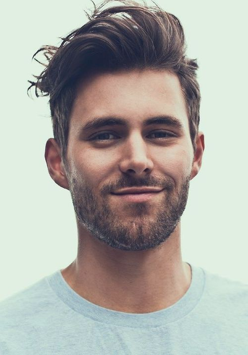 Modern male haircut, beard | Beard Grooming | Pinterest | Haircuts ...