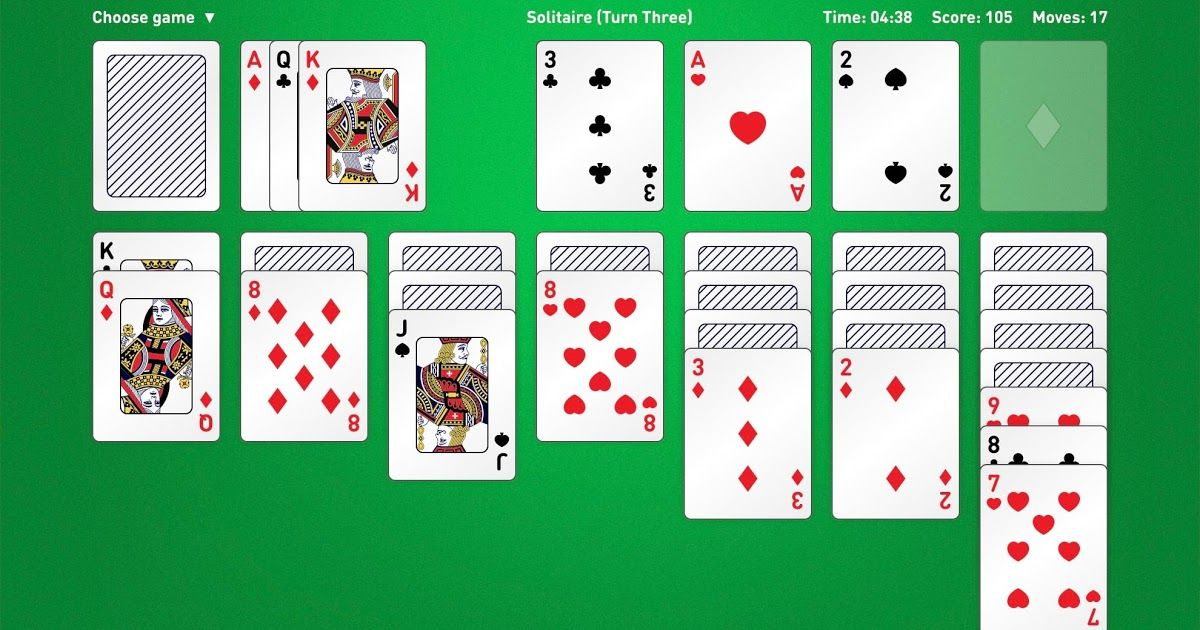 Pin by Aoe on game Solitaire cards, Solitaire card game