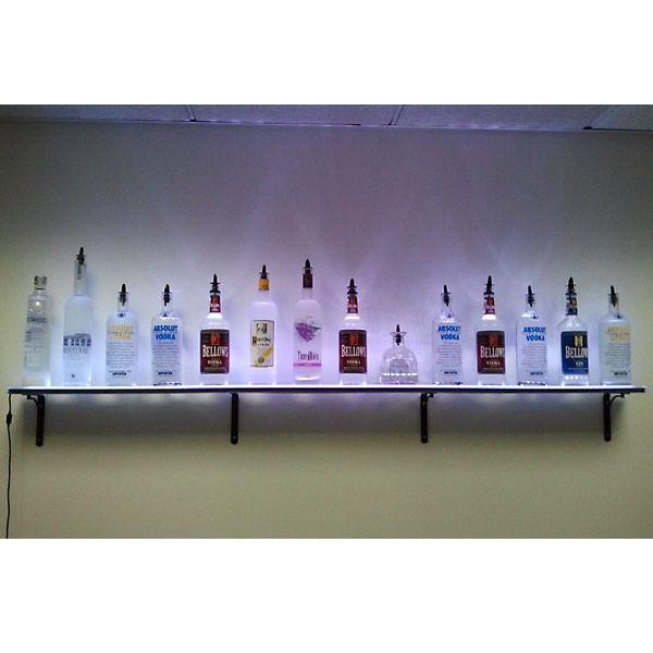 Lighted Bottle Wall Mount Liquor Bottle Lights Liquor Shelf Bottle Display