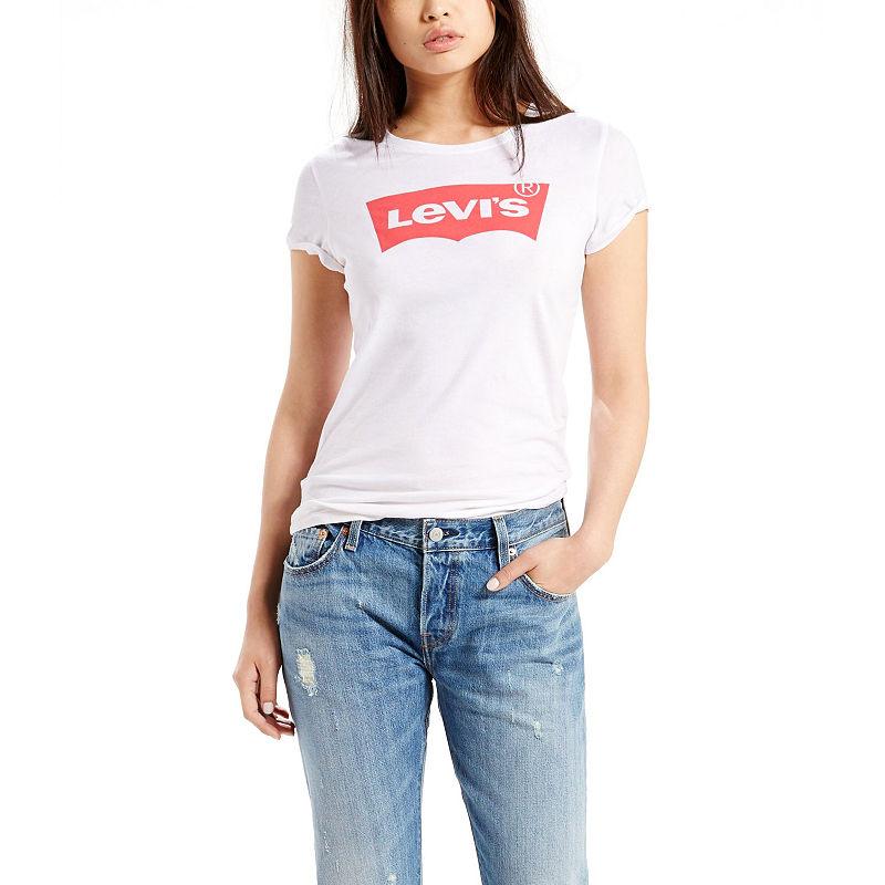 baa7998e0e6 Levi s-Womens Crew Neck Short Sleeve T-Shirt