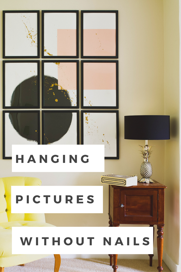 How To Hang Pictures Without Nails Sarah Akwisombe Hanging Pictures Without Nails Hanging Pictures Frames On Wall