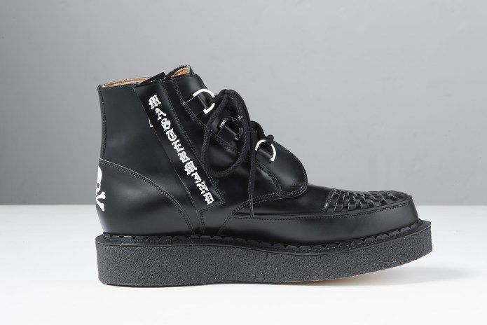 mastermind JAPAN Teams up With George Cox for Limited-Edition Creeper Boot 9e8d4e8d2