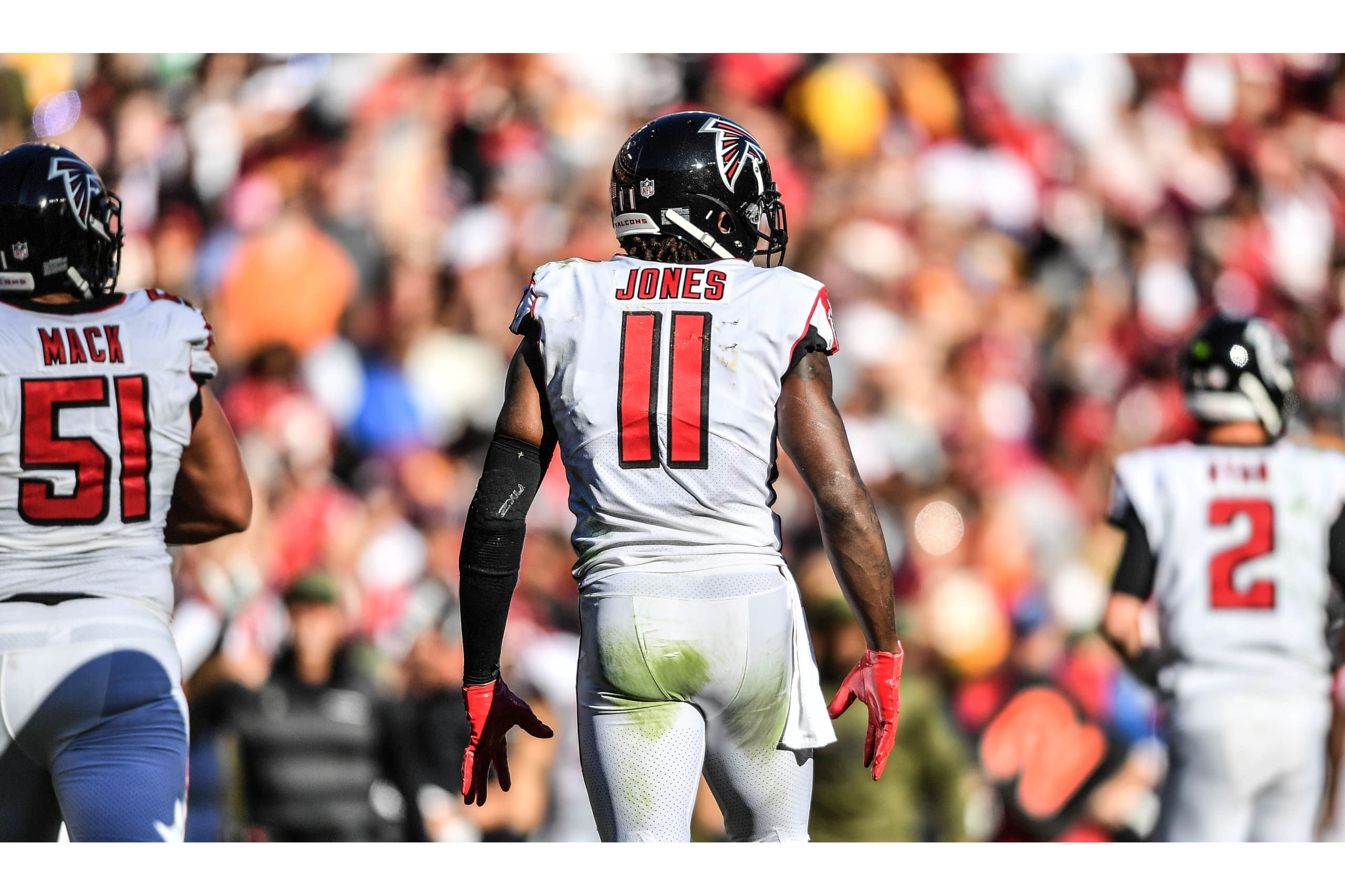 Wr Julio Jones Atlanta Falcons Alika Jenner Falcons Nfl Championships Atlanta Falcons