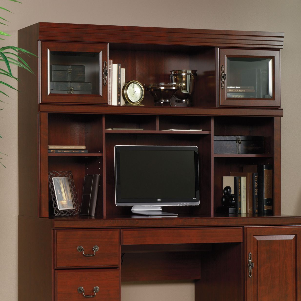 Sauder Corner Computer Desk With Hutch   Best Home Office Desk Check More  At Http: