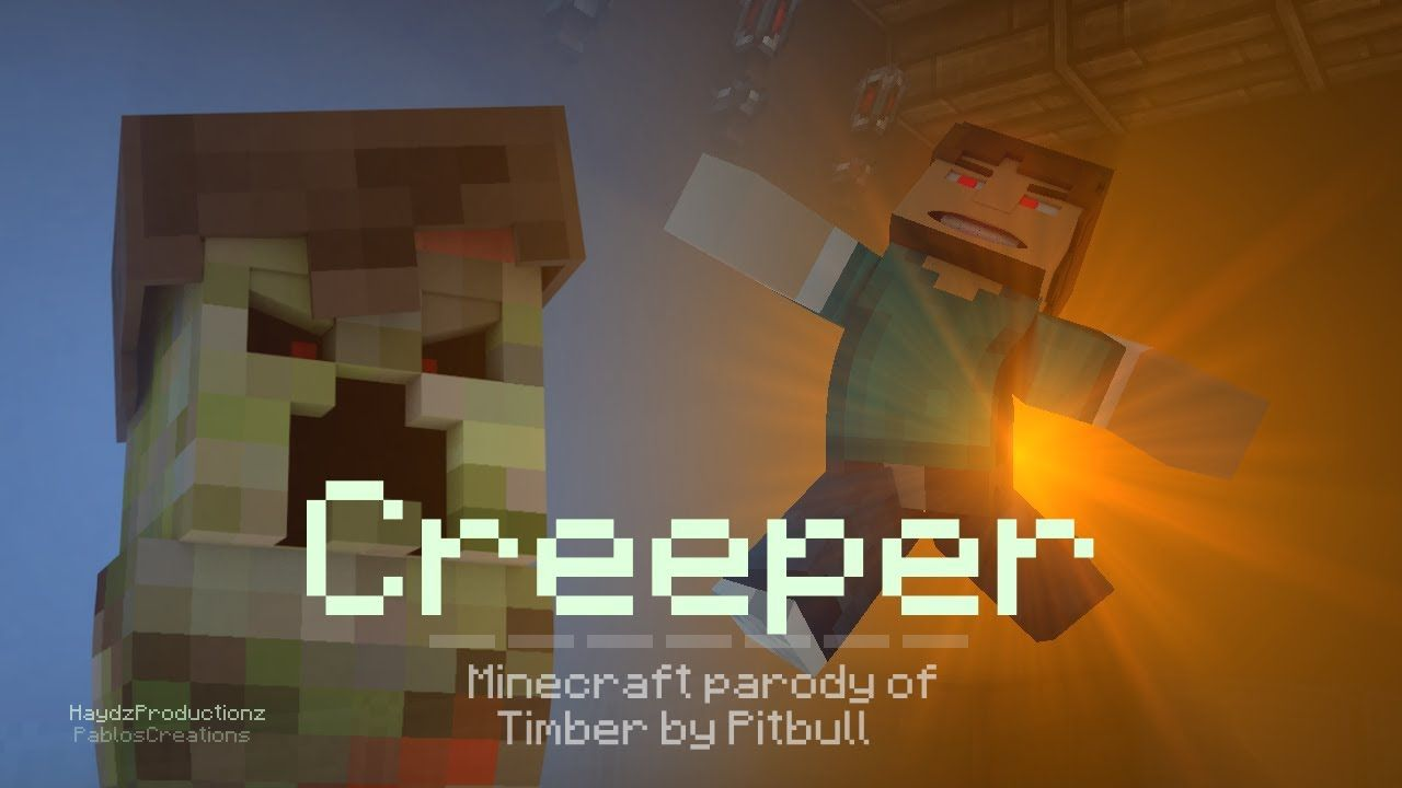 ♫ Creeper A Minecraft Parody of Michael Jackson's Thriller Music Video |  den video er godt | Pinterest | Creepers and Thrillers