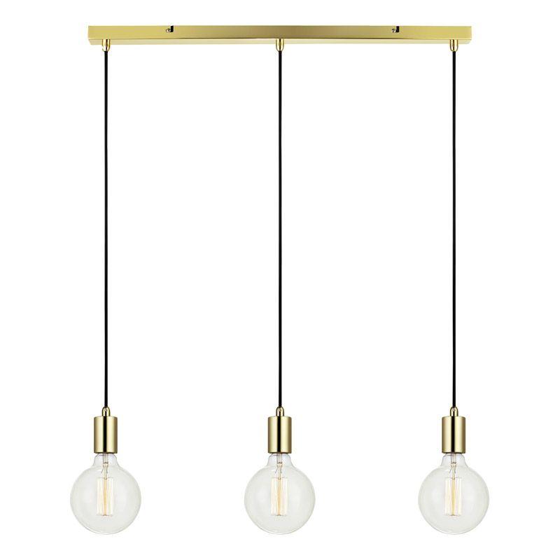 Taklampa Sky En modern taklampa med tre hängande lamphållare