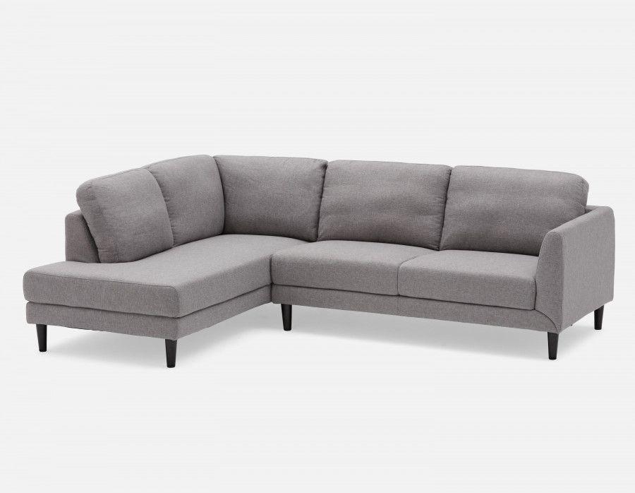 Doug Grey Left Facing Sectional Sofa Structube Sectional Sofa