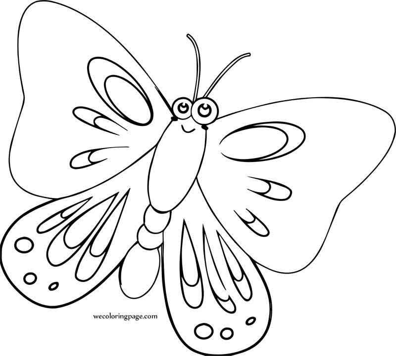 Butterfly Cartoon Coloring Page Cartoon Coloring Pages Coloring Pages Cartoon Butterfly