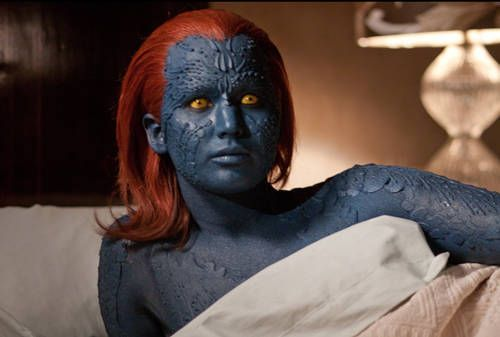 X Men Days Of Future Past Jennifer Lawrence Says Mystique Is Mutant And Proud Jennifer Lawrence Mystique Jennifer Lawrence Movies X Men