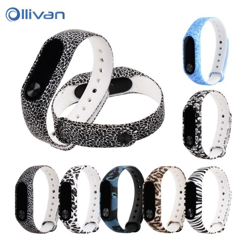 Ollivan silicone replacement for xiaomi mi band 2 smart