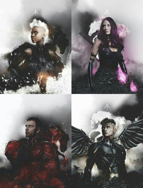Xmen Apocalypse Four Horseman tumblr #xmen #apocolypse #xma