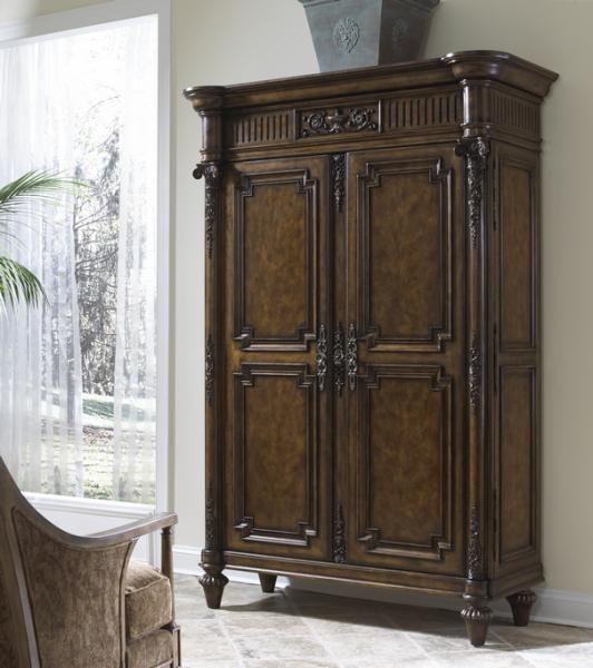 Belvedere Media Cabinet Armoire By Fine Furniture Design