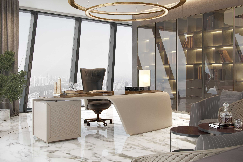 Office Interior Ideas Office At Home Decorate Your Office Desk Interiores De Oficina Diseno De Interiores Oficina Oficinas De Diseno