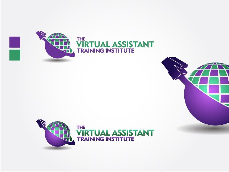 The Virtual Assistant Training Institute Logo Design by RGB Designs