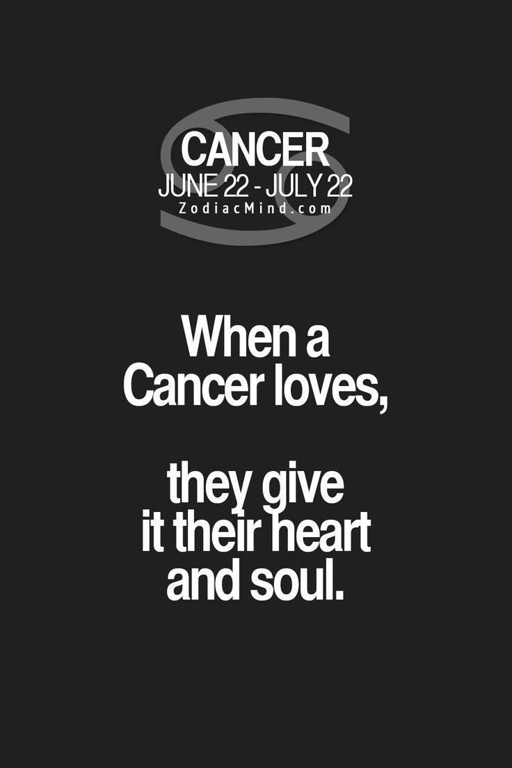 Cancer Sign Quotes Cancer Sign Quotes  Quotes Of The Day