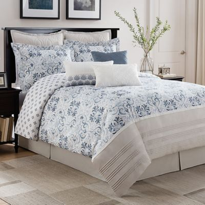 See more detail about Bridge Street Porto Reversible Comforter Set