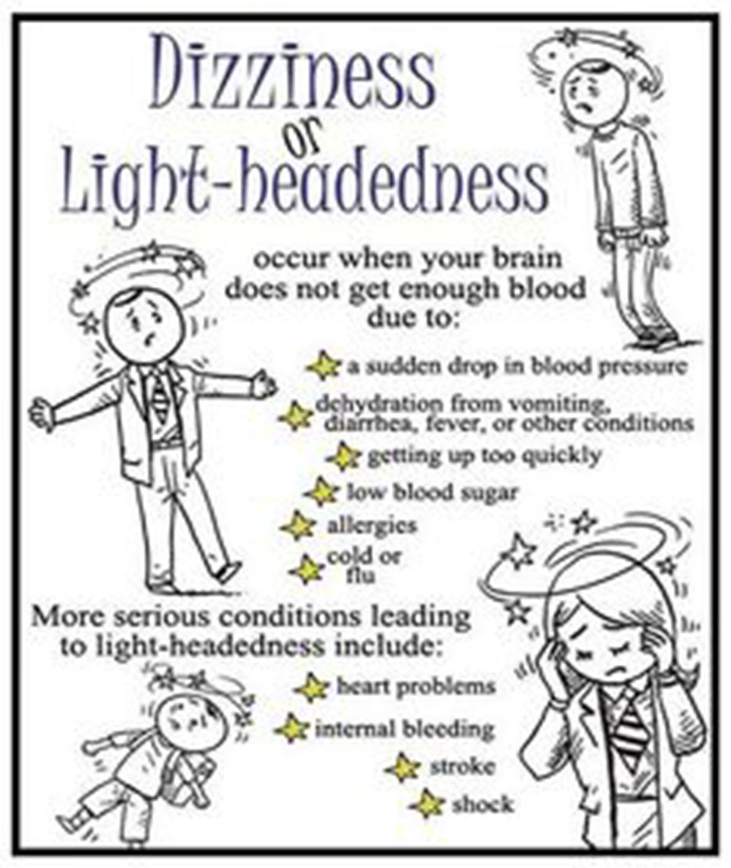 Treating Balance Problems Dizziness Light Headedness Dizziness Remedies