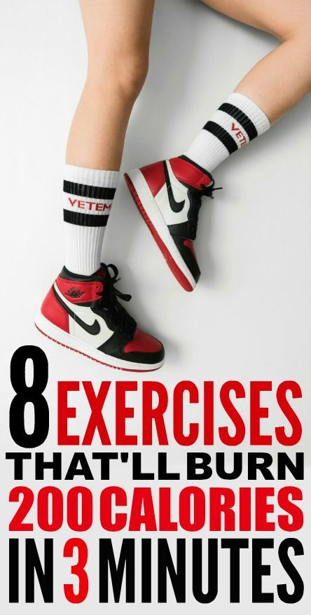 8 Three-Minute Exercises That'll Burn 200 Calories ...