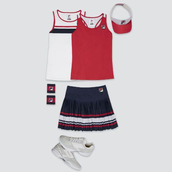 fef6ec87e88 Back to basics: Karolina Pliskova's Fila Heritage collection for ...