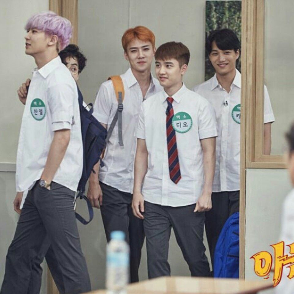 Exo knowing brothers episode
