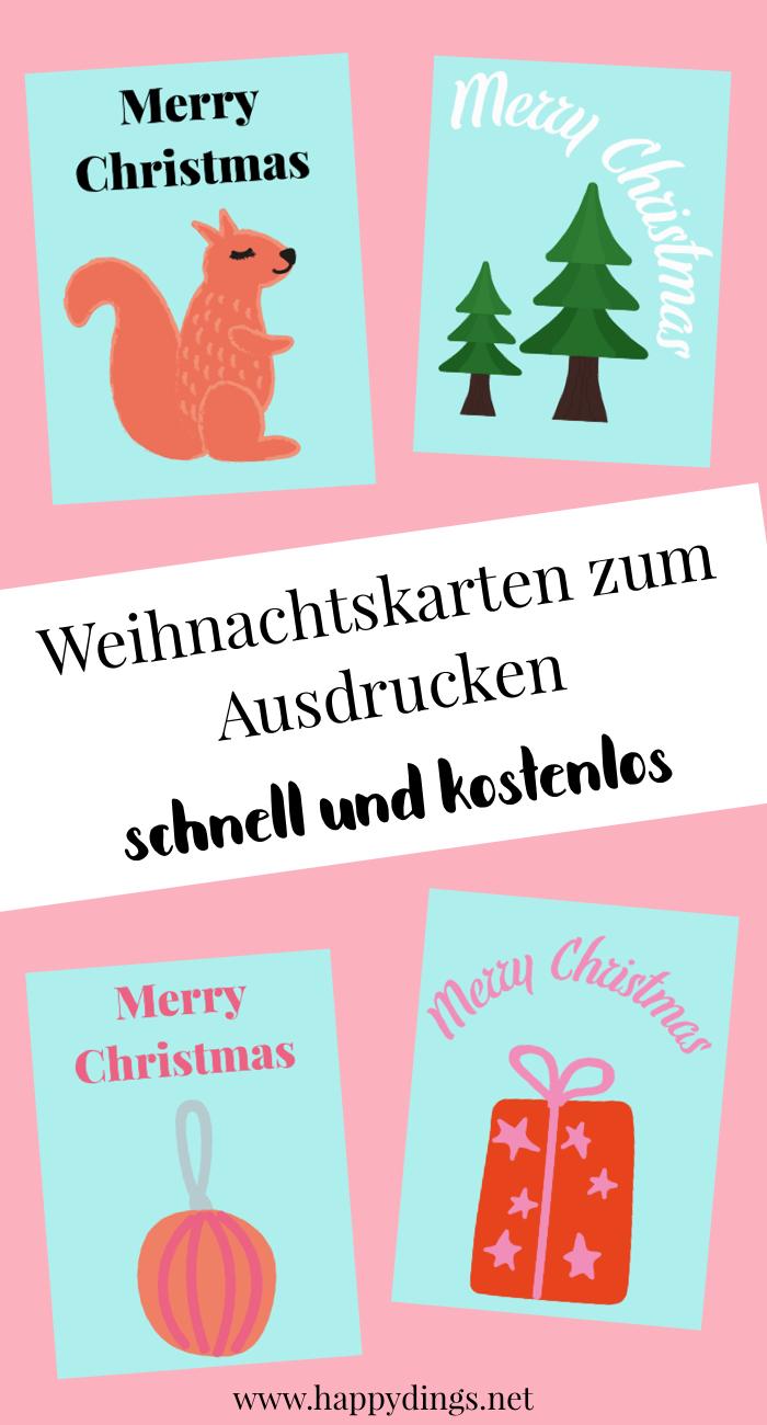 Bezaubernd Weihnachtskarten Selber Basteln Vorlagen Kostenlos Das Beste Von Diy Karten Für Weihnachten Machen. Last Minute