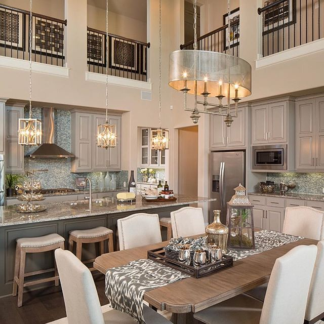 A balcony overlooking the kitchen Genius! By Five Star Interiors