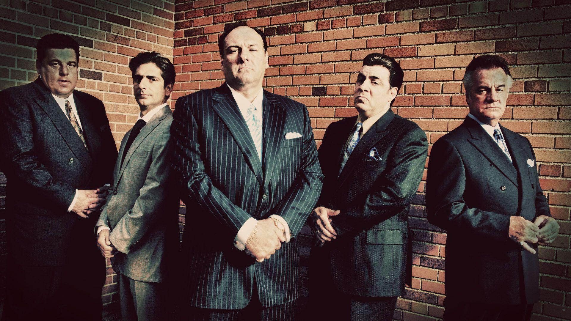 James Gandolfini Tony Soprano Images For Desktop And Wallpaper Sopranos Sopranos Canvas Mafia