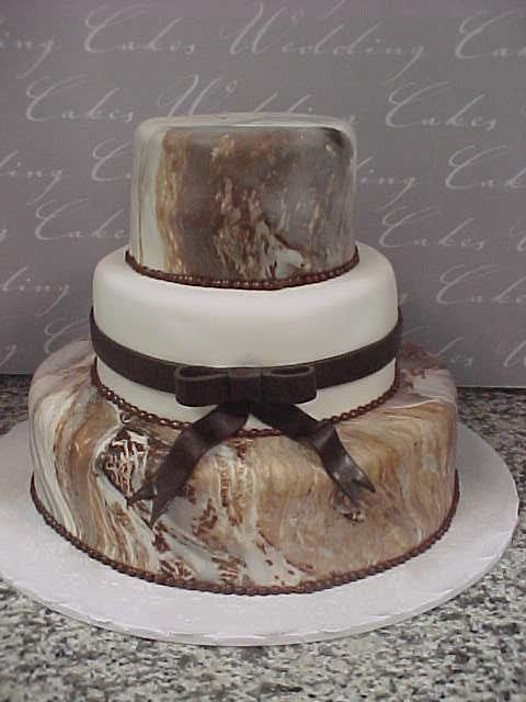 3 tier white fondant wedding cake three tier white and chocolate marbled fondant wedding 10355