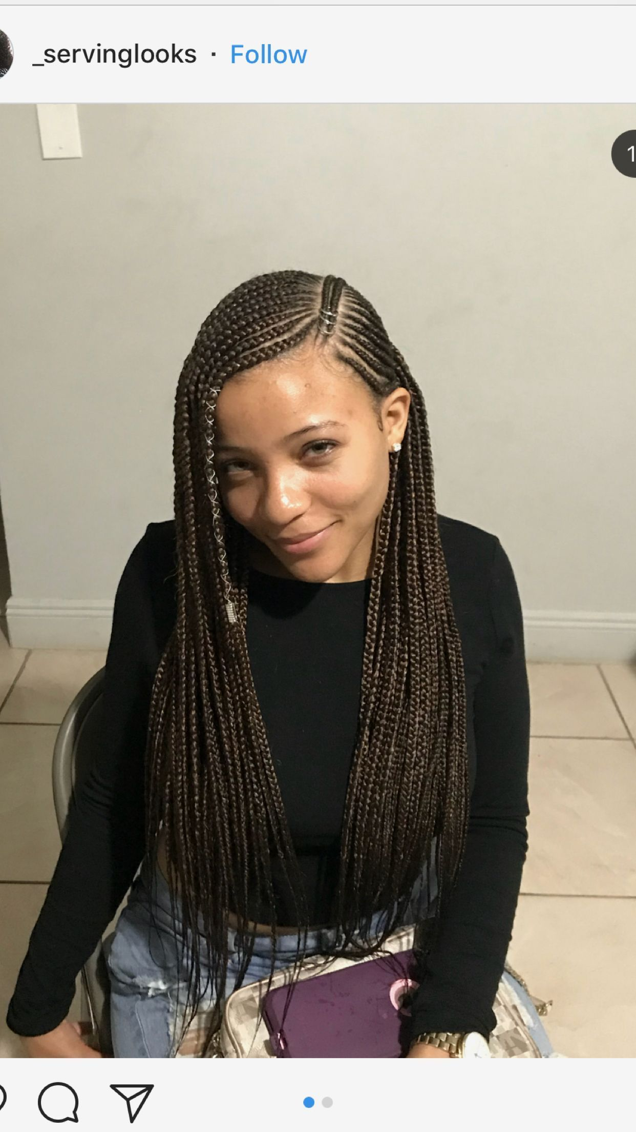 africanhairbraiding in 2019 Braided hairstyles, African