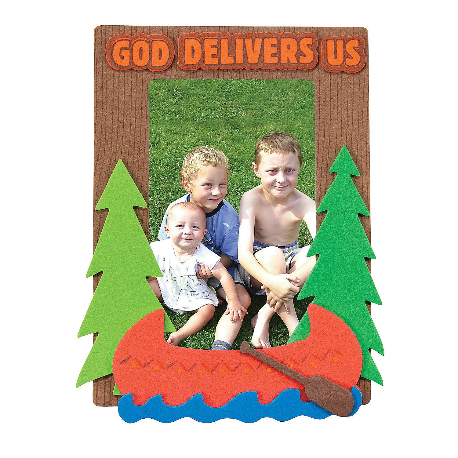 Camp Courage Picture Frame Magnet Craft Kit Discontinued Magnet Crafts Vbs Crafts Picture Frame Crafts