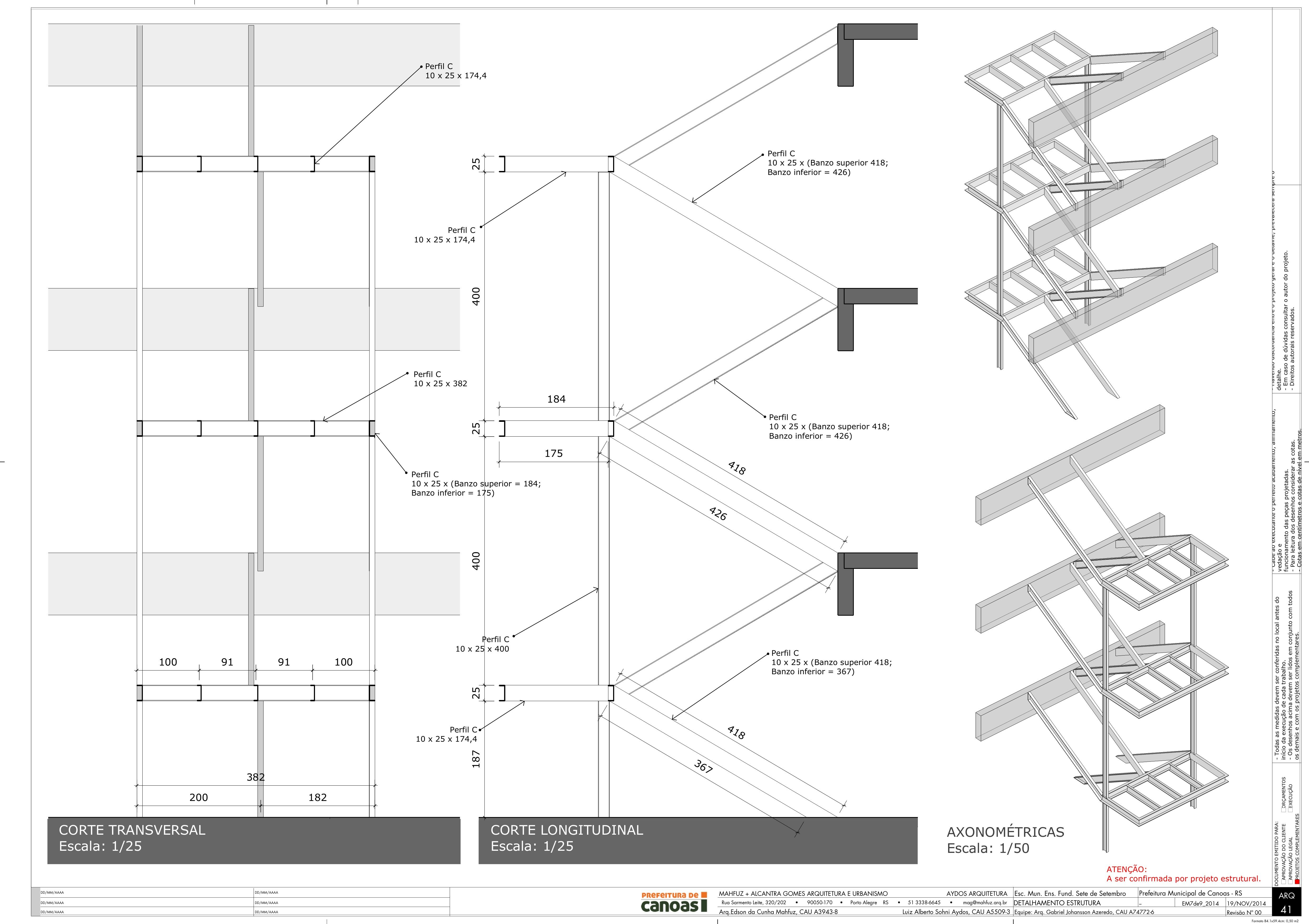 Sections created with Skalp for SketchUp. Project by Edson