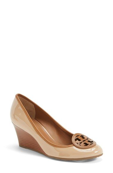 1215e5a7a Tory+Burch+'Louisa'+Wedge+Pump+(Women)+available+at+#Nordstrom ...
