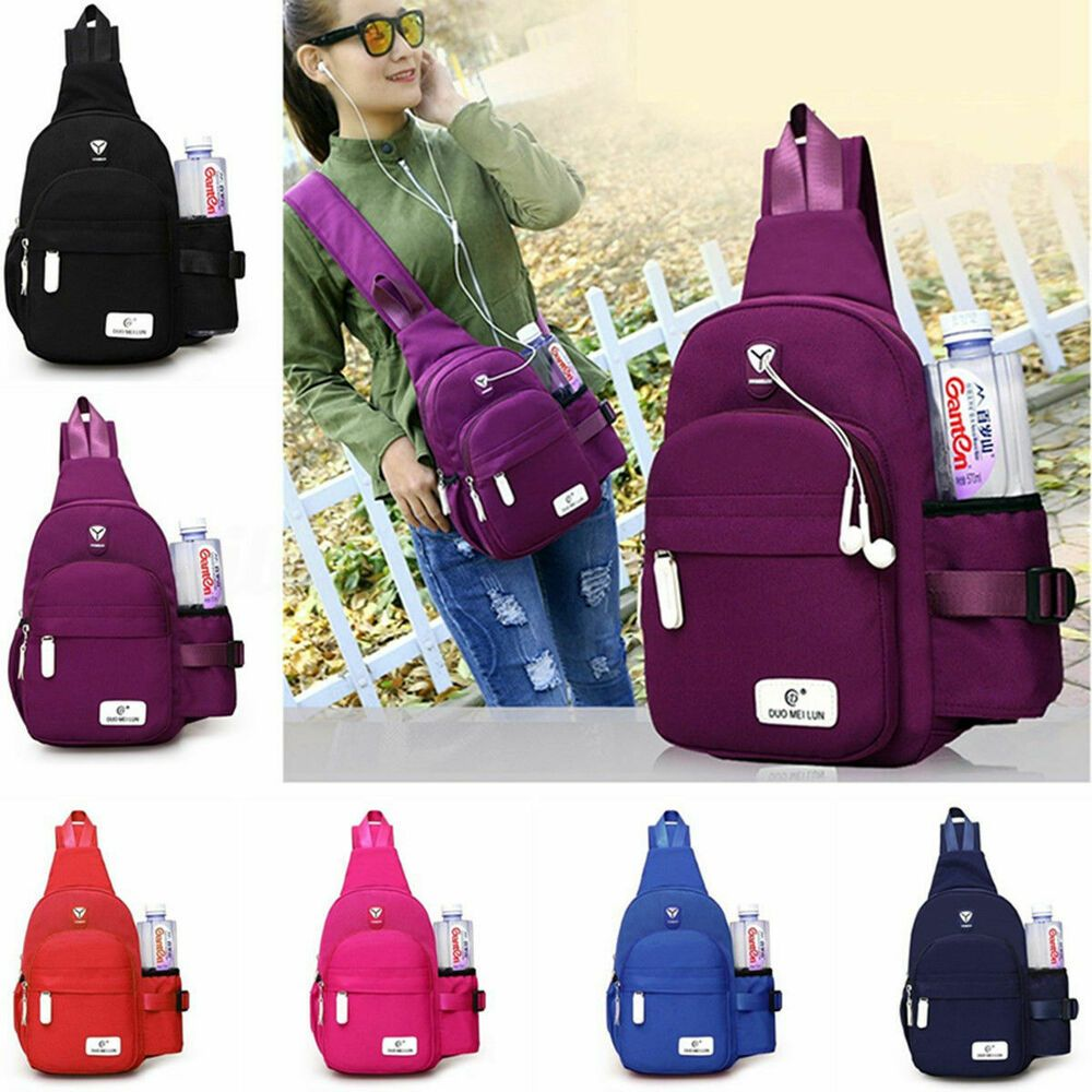 Fashion Crossbody Shoulder Chest Cycle Sling Bag Travel Backpack for Men Women