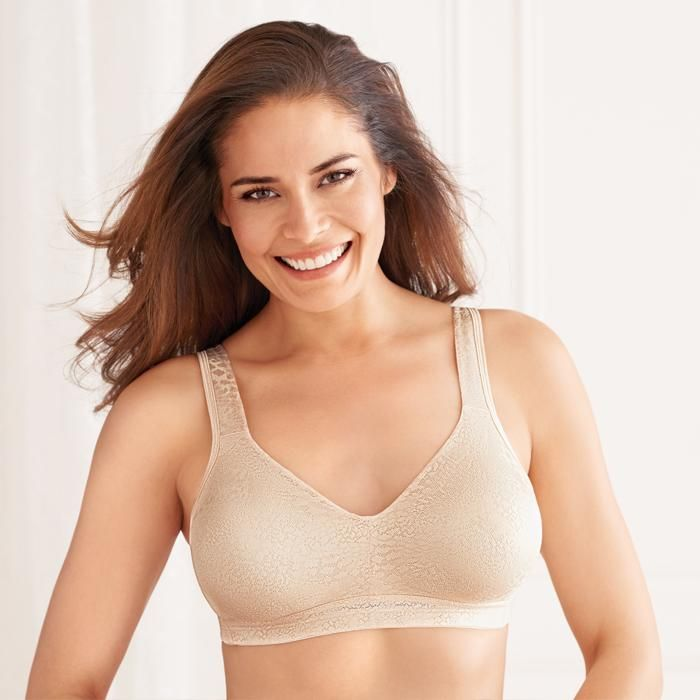 b6190dcfaa3 Playtex® Secrets® 18-Hour® Fittingly Fabulous Wirefree Bra (5453). When it  comes to support